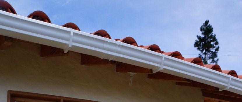 techo con canoa