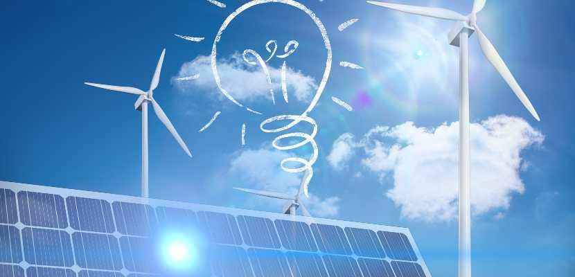 varias energías renovables