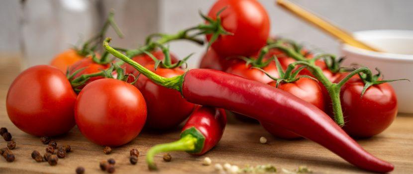 Tomates y chiles