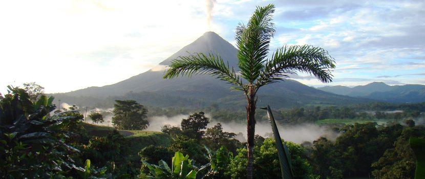 Volcán en Costa Rica