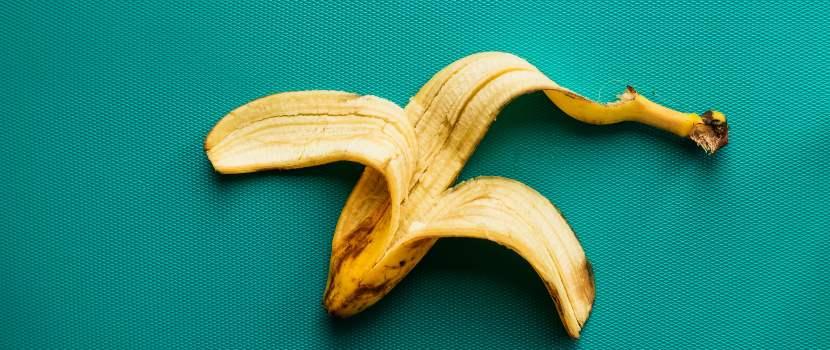 cáscara de banano